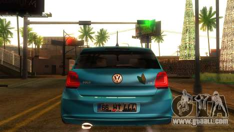 Volkswagen Polo for GTA San Andreas back left view