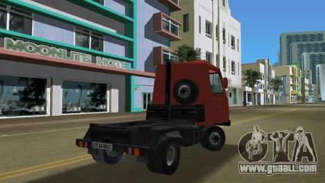 Multicar for GTA Vice City inner view