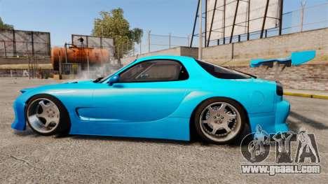 Mazda RX-7 Super Edition for GTA 4 left view