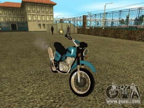 IZH Planeta 5 for GTA San Andreas back view