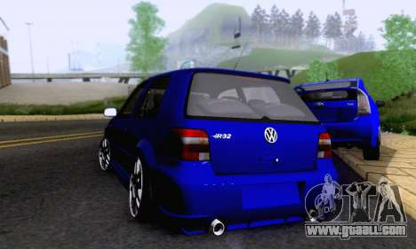 Volkswagen Golf R32 for GTA San Andreas back view