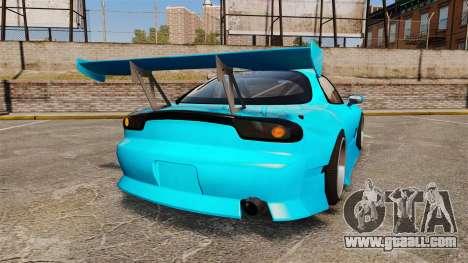 Mazda RX-7 Super Edition for GTA 4 back left view