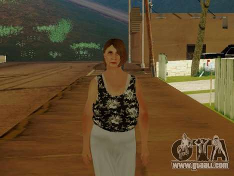 An elderly woman v.2 for GTA San Andreas