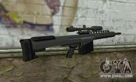 GTA V Heavy sniper for GTA San Andreas second screenshot