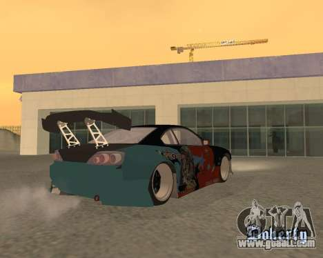 Nissan 150sx Evil Empire for GTA San Andreas left view