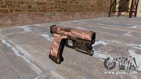 Pistol Glock 20 Red Tiger for GTA 4