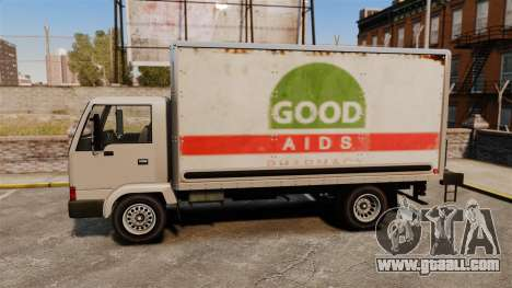 Mule with a new advertisement for GTA 4 inner view