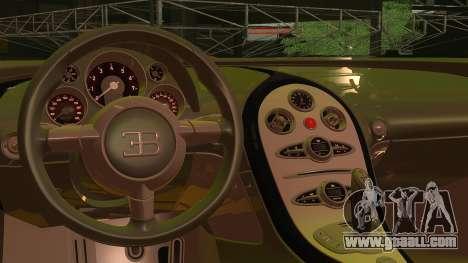 Bugatti Veyron 2009 for GTA San Andreas right view