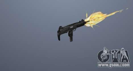 The submachine gun UZI for GTA San Andreas twelth screenshot