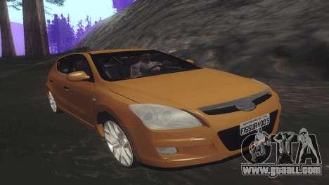 Hyundai i30 for GTA San Andreas