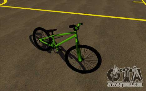 Street MTB bike for GTA San Andreas left view