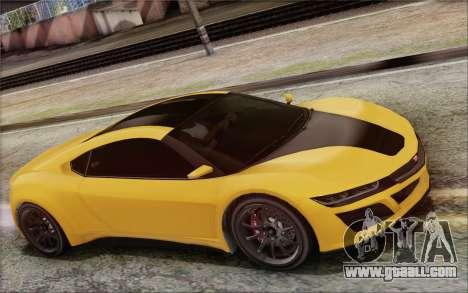 GTA V Dinka Jester IVF for GTA San Andreas