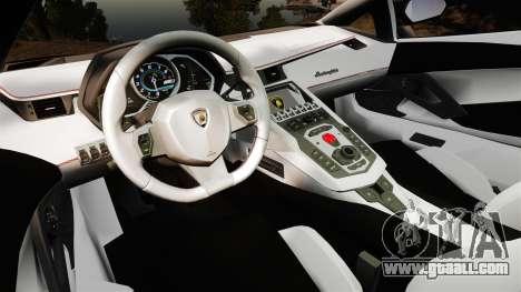 Lamborghini Aventador LP700-4 [Monster truck] for GTA 4 back view