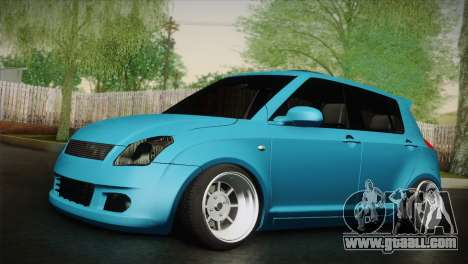 Suzuki Swift Hellaflush for GTA San Andreas