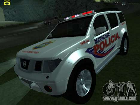 Nissan Pathfinder Polimaracaibo for GTA San Andreas