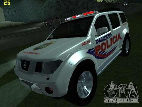Nissan Pathfinder Polimaracaibo for GTA San Andreas