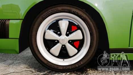 Porsche 911 Targa 1974 for GTA 4 back view