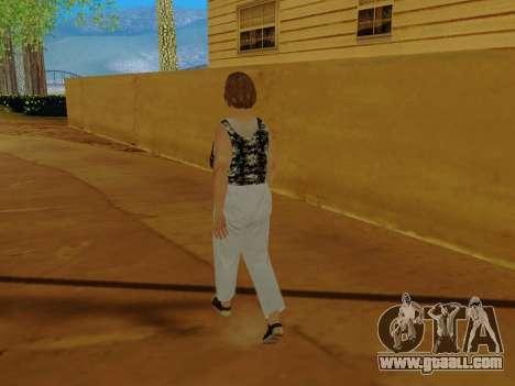 An elderly woman v.2 for GTA San Andreas seventh screenshot