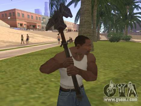 Baton Marker for GTA San Andreas