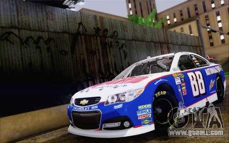 Chevrolet SS NASCAR Sprint Cup 2013 for GTA San Andreas
