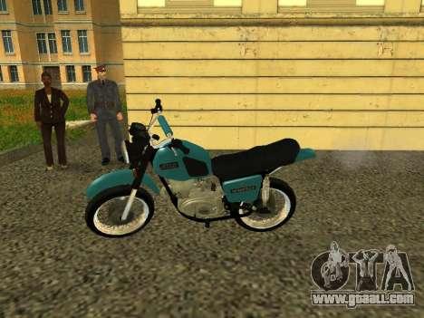 IZH Planeta 5 for GTA San Andreas left view