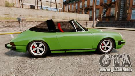 Porsche 911 Targa 1974 for GTA 4 left view