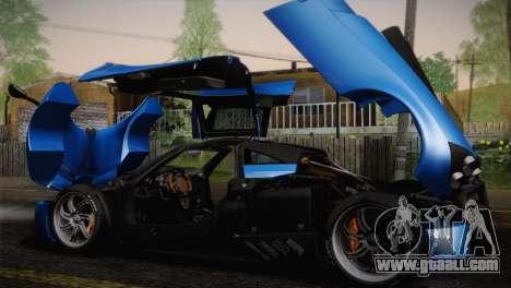 Pagani Huayra for GTA San Andreas engine