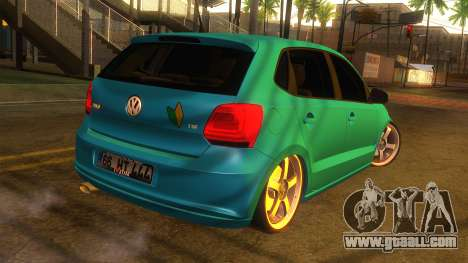 Volkswagen Polo for GTA San Andreas left view
