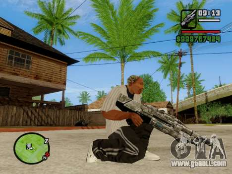 M-86 Sabre v.2 for GTA San Andreas third screenshot