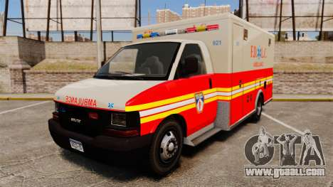 Brute Speedo FDLC Ambulance [ELS] for GTA 4