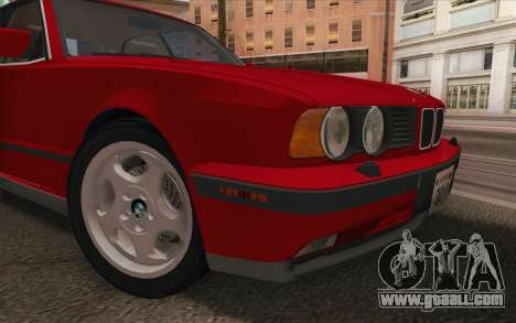 BMW M5 E34 1991 NA-spec for GTA San Andreas back view