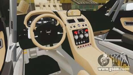 Aston Martin V12 Zagato for GTA 4 side view