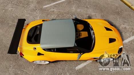 Aston Martin V12 Zagato for GTA 4 right view
