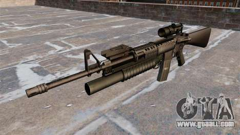 Tactical rifle M16A4 for GTA 4 third screenshot