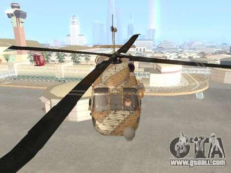 SH-60  Batik Indonesia for GTA San Andreas inner view