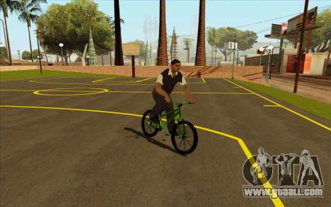 Street MTB bike for GTA San Andreas right view