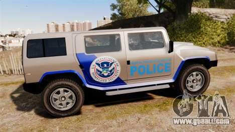 Patriot Police v2.0 for GTA 4 left view