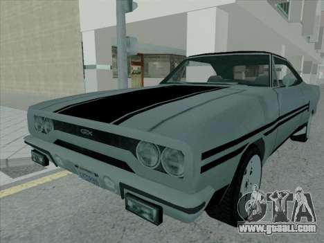 Plymouth Road RunneR GTX 1970 for GTA San Andreas
