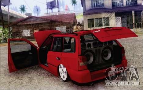 Volkswagen Parati SPS Club for GTA San Andreas inner view