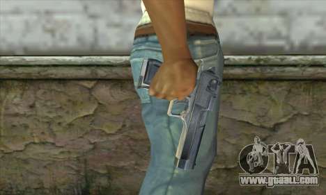 The gun from Stalker for GTA San Andreas third screenshot