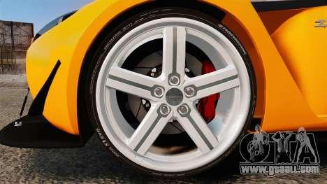 Aston Martin V12 Zagato for GTA 4 back view
