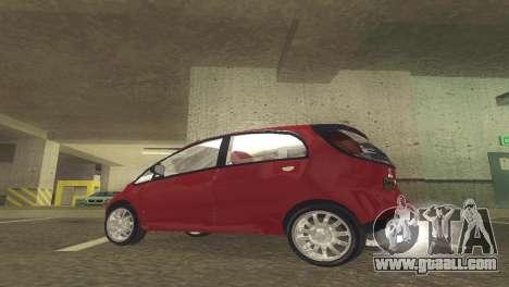 Mitsubishi i MiEV for GTA San Andreas left view