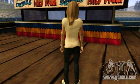 Catrina Skin for GTA San Andreas fifth screenshot