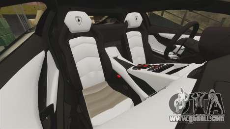 Lamborghini Aventador LP700-4 2012 [EPM] Miku 2 for GTA 4 side view