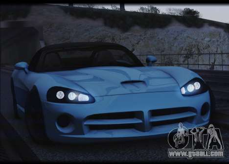 Dodge Viper SRT-10 for GTA San Andreas back view