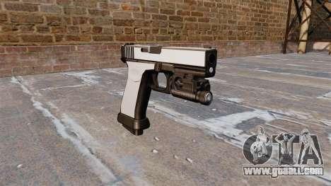 Pistol Glock 20 Chrome for GTA 4