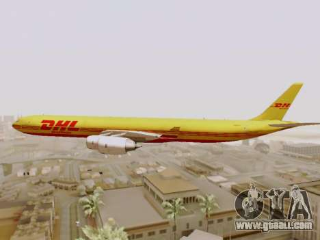 Airbus A340-600F DHL Buffalo for GTA San Andreas upper view