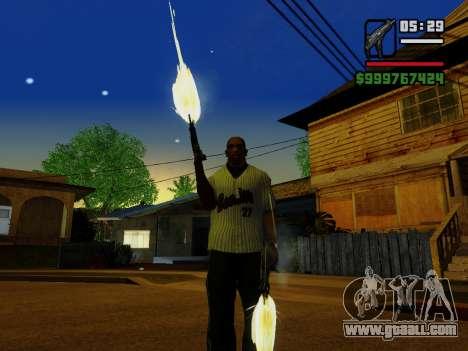 The submachine gun UZI for GTA San Andreas tenth screenshot