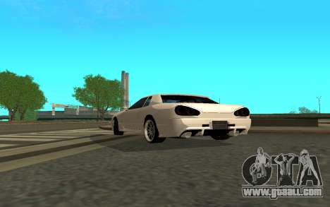 Elegy By Eweest v0.1 for GTA San Andreas back left view