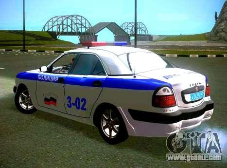 GAZ Volga 3111 DPS for GTA San Andreas left view